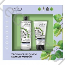 AA  Polka Косметический набор: шампунь + березовая маска для волос