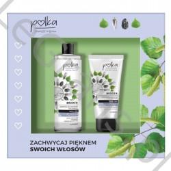 AA  Polka Zestaw kosmetyków: szampon + maska do włosów brzoza
