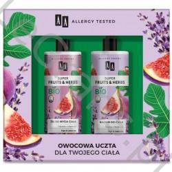 AA Super Fruits&Herbs Косметический набор: гель для умывания + лосьон для тела