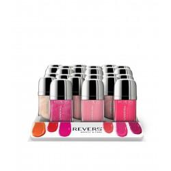 Set Matt Lip Gloss CHANTALL Revers Cosmetics (opakowanie 12 szt.)