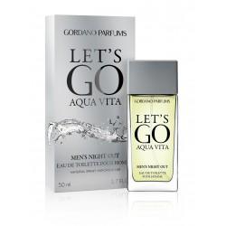 "nr 01 Woda Toaletowa Let""S Go For Men ""Gordano Parfums""  Revers Cosmetics 50 ml"