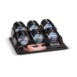 Cienie do powiek Color Focus '3' Perłowe Quiz Cosmetics (opakowanie 36 szt.)