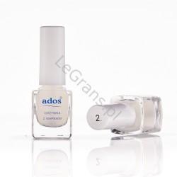 2,45 zł. nr 2. Odżywka z wapniem Ados Cosmetics (opakowanie 5 szt.)
