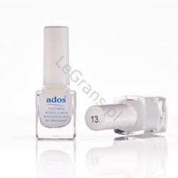 2,45 zł. nr 13. Odżywka wybielająco - wygładzająca do paznokci Ados Cosmetics (opakowanie 5 szt.)