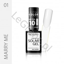 3,66 zŁ. NR 1 Nail polish SOLAR GEL The effect of a hybrid nail polish