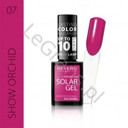 3,66 zŁ. NR 7 Solar Gel Profesjonalny Lakier do paznokci utwardzany pod wpływem promieni słonecznych