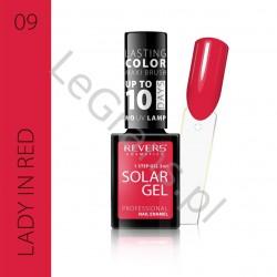 3,66 zŁ. NR 9 Solar Gel Profesjonalny Lakier do paznokci utwardzany pod wpływem promieni słonecznych