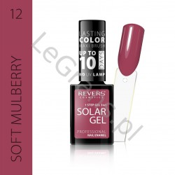 3,66 zŁ. NR 12 Nail polish SOLAR GEL The effect of a hybrid nail polish