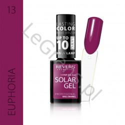 3,66 zŁ. NR 13 Solar Gel Profesjonalny Lakier do paznokci utwardzany pod wpływem promieni słonecznych