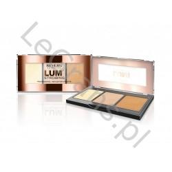 LUMI STROBING PROFESSIONAL HIGHLIGHTER PALETTE Revers Cosmetics (opakowanie 12 szt.)
