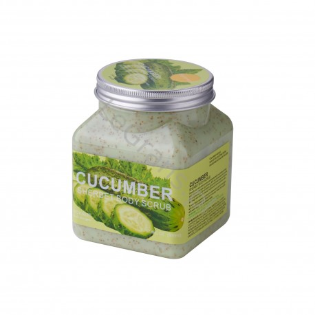 CUCUMBER BODY SCRUB 500 ml