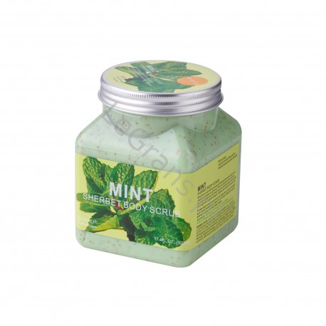 Body Peeling with Mint 500 ml