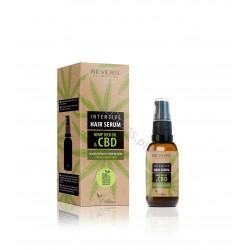 8.15 zł. Regenerating Hair Serum with natural hemp oil and CBD 50 ml Revers Cosmetics (1 pcs.)
