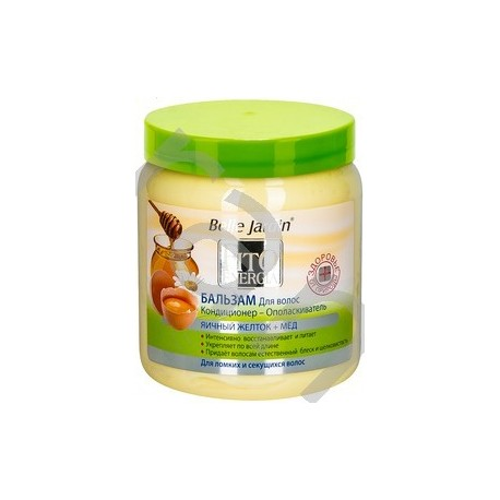 Hair conditioner Conditioner-Rinse EGG YOLK + HONEY Belle Jardin Cosmetics