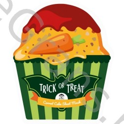 Trick Or Treat Carrot Cake