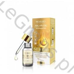 REVERS Regenerating serum for face, neck and décolleté with argan oil, 10ml