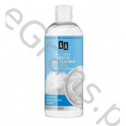 AA Mattifying Micellar Water with Baking Soda for oily and combination skin, 400 ml