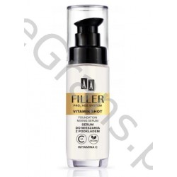 AA FILLER PRO3 AGE SYSTEM VITAMIN SHOT Serum with foundation, 30ml
