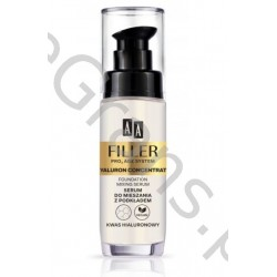 AA FILLER PRO3 AGE SYSTEM HIALURON CONCENTRAT Serum for mixing with foundation, 30ml