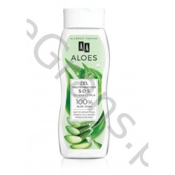 AA Multifunctional S.O.S. hand and body gel 100% ALOE VERA, 250 ml
