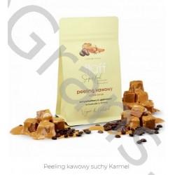 FLUFF Dry Caramel Coffee Peeling, 100g