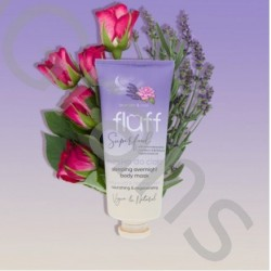 FLUFF Body mask Rose & Lavender, 150ml