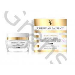 CHRISTIAN LAURENT Infusion anti-wrinkle cream to restore skin density, day & night, 55+, 50ml