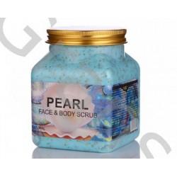Wokali Premium PEARL  Face and body scrub,  500 ml