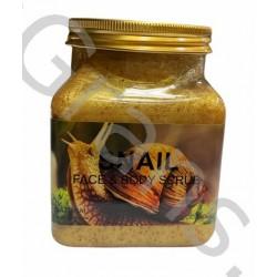 Wokali Premium SNAIL  Face and body scrub,  350 ml