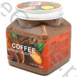 Wokali Premium COFFEE  Face and body scrub,  350 ml
