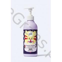 YOPE Natural baby shower gel Cranberry&Lavender, 400ml