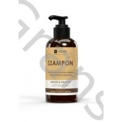 HISKIN Shampoo (glass) for thin, deprived hair lightness & volume, 250ml
