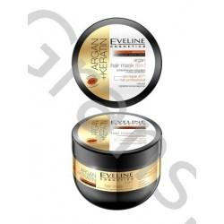 Eveline Hair Mask 8in1 Argan+Keratin, 300ml