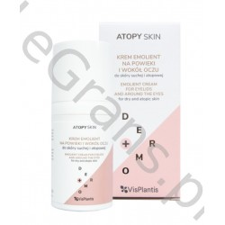 VP ATORY SKIN Emollient eyelid and eye cream for dry and atopic skin, 30ml