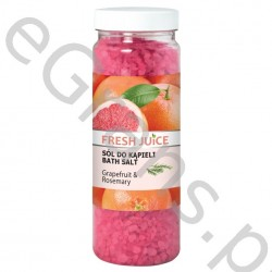 FJ Bath salt, grapefruit & rosemary, 700g