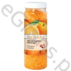 FJ Bath salt, orange & guarana, 700g