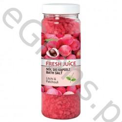 FJ Bath salt, litchi & patchouli, 700g