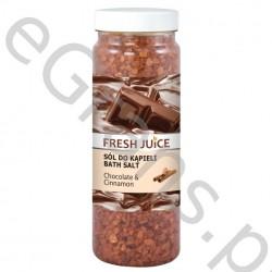 FJ Bath salt, chocolate & cinnamon, 700g