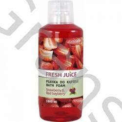 FJ Bath foam, Strawberry&Red bayberry, 1000g