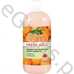 FJ Creamy shower gel, Tangerine&Awapuhi, 500g