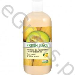 FJ Creamy shower gel, Thai melon&White lemon, 500g